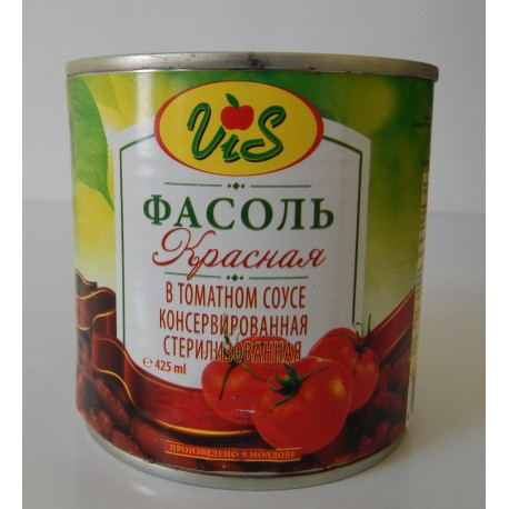 Red beans in tomato sauce 410gr