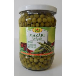 Canned green peas (highest quality) 540gr