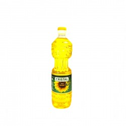 Unrefined Cristal Vegetable Oil 1L