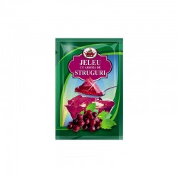 Jelly with grape flavor 90g